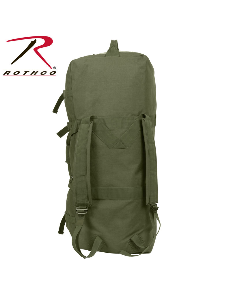 Rothco Enhanced G.I. Type Zipper Duffle Bag