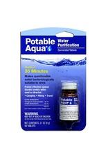 Potable Aqua Water Purification Tablets