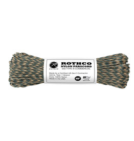 Rothco Nylon Paracord Type III 550lb 100ft