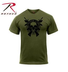 Rothco Molon Labe Skull T-Shirt