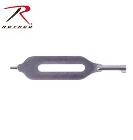 Rothco Open Slotted Handcuff Key