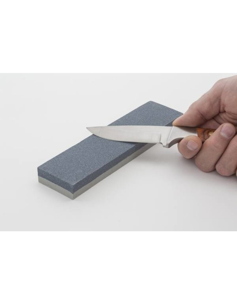 """Smith's 8"""" Dual Grit Combination Sharpening Stone"""