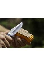 """Smith's 4"""" Diamond Sharpening Stone & Fixed Blade Knife"""