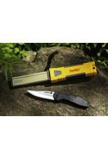 Smith's Dual Grit Diamond Stone Sharpener & Knife