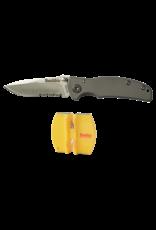 Smith's Titania-I Knife & 2-Step Sharpener