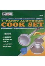 World Famous Aluminium Mess Kit
