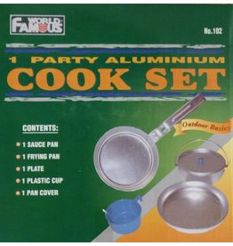 World Famous Aluminium Mess Kit