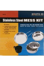 World Famous Stainless Steel Mess Kit