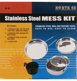 SGS Stainless Steel Mess Kit
