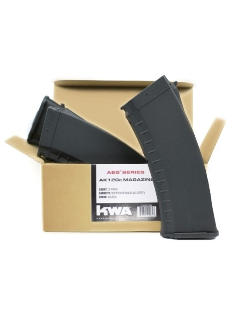 KWA AKR AK120c Magazine (3 pack)