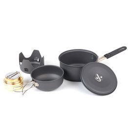 NDūR Mini Cookware with Alcohol Burner