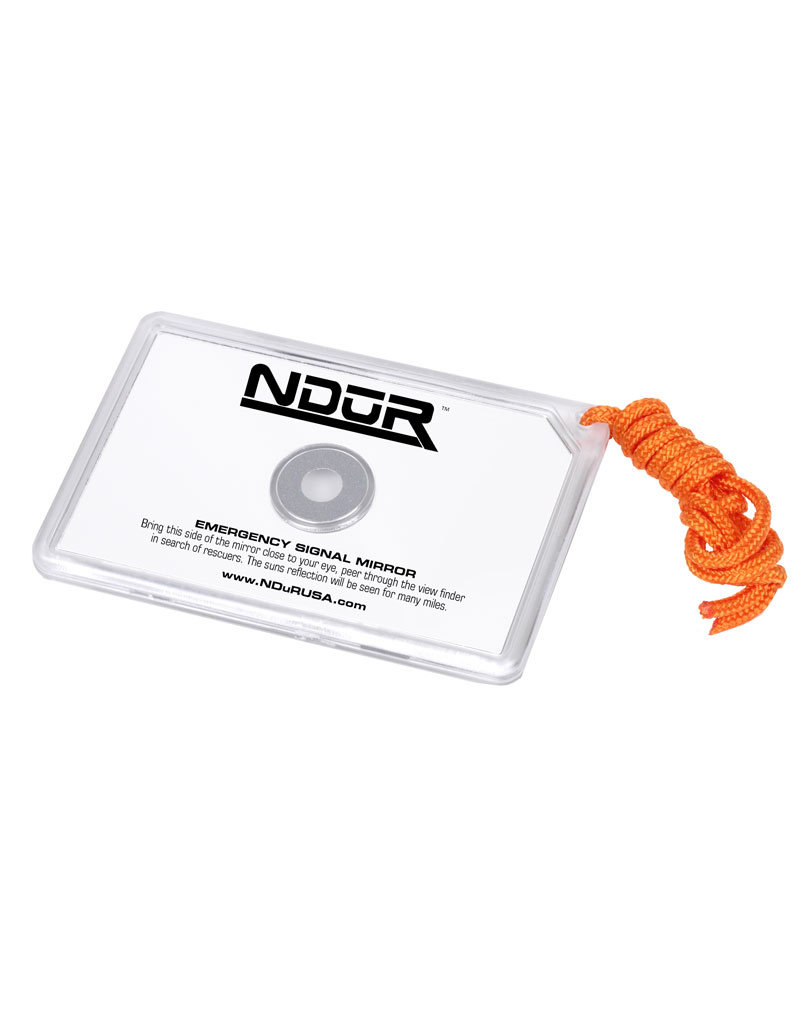 NDūR Emergency Signal Mirror