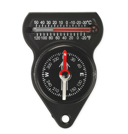 NDūR Mini Compass with Thermometer