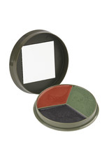 Camcon 3 Color Camouflage Cream Compact with Mirror