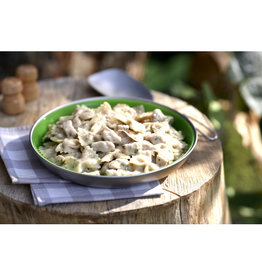 Happy Yak Porc braisé, sauce champignon et vin blanc