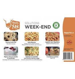 Happy Yak Solution Week-end (Végétarien)