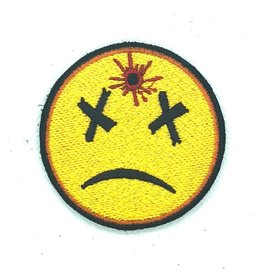 Custom Patch Canada Dead Smiley