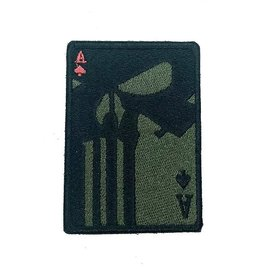Custom Patch Canada Punisher A's Patch