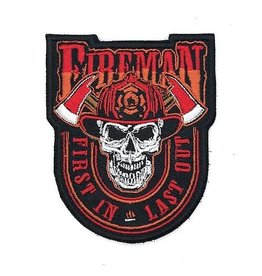 Custom Patch Canada Fireman