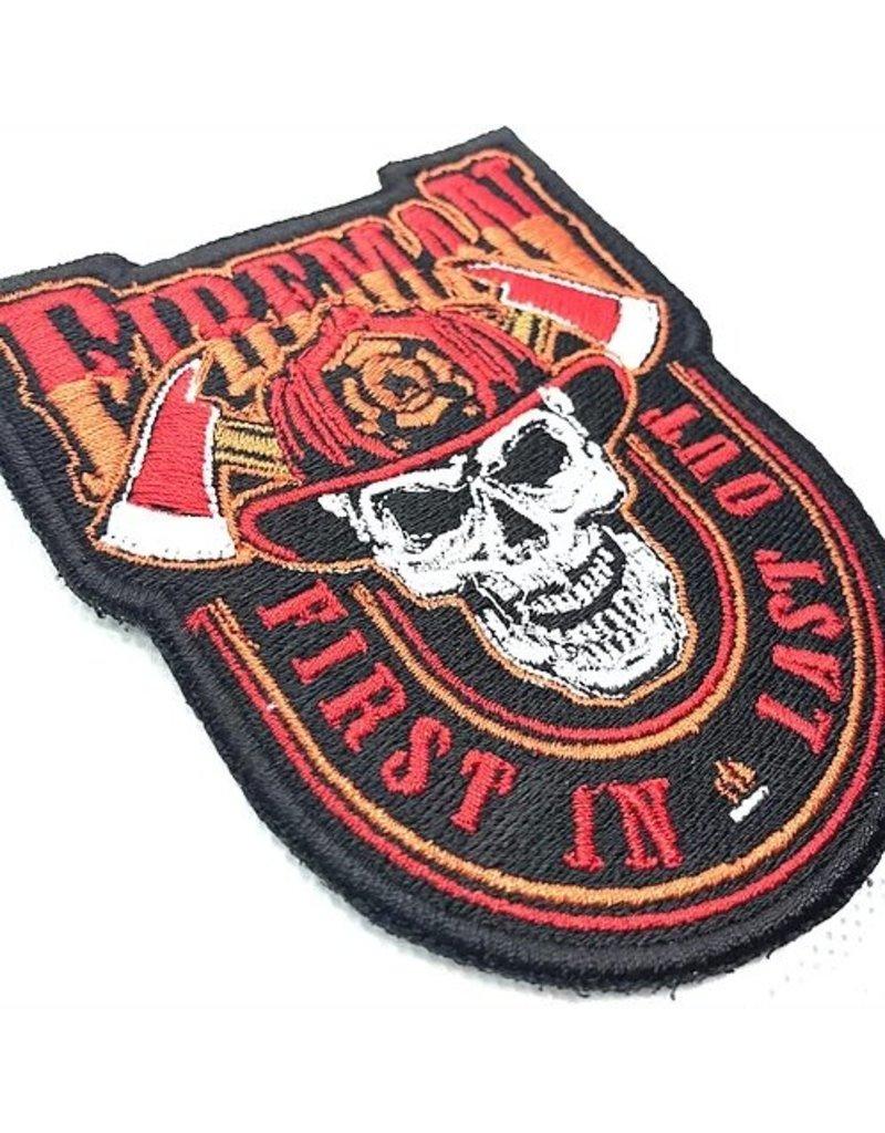 Custom Patch Canada Fireman Patch