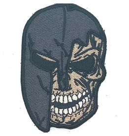 Custom Patch Canada Spartiate Skull