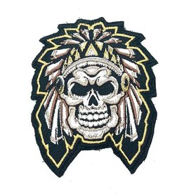 Custom Patch Canada Aztek Skull