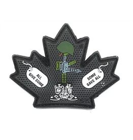 Custom Patch Canada All Give Some Patch