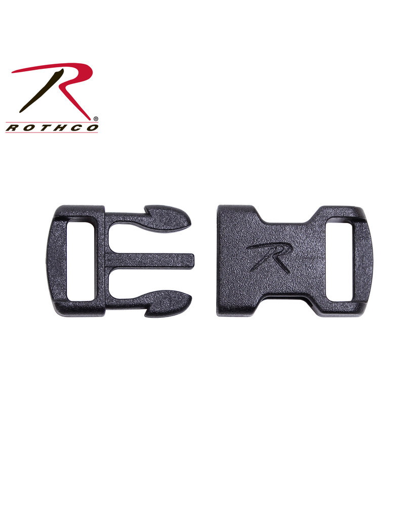 """Rothco 3/8"""" Flat Side Release Buckle"""