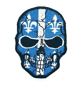 Custom Patch Canada Skull Quebec