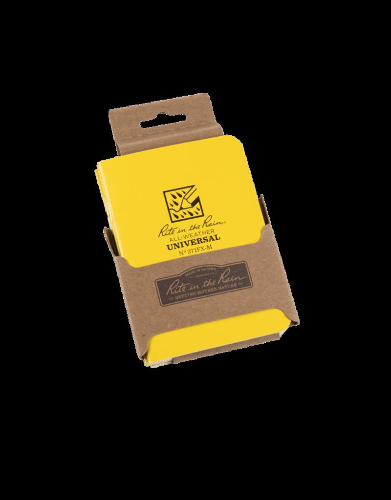 """Rite in the Rain 3 1/4"""" x 4 5/8"""" Mini Stapled Notebook (3 pack)"""