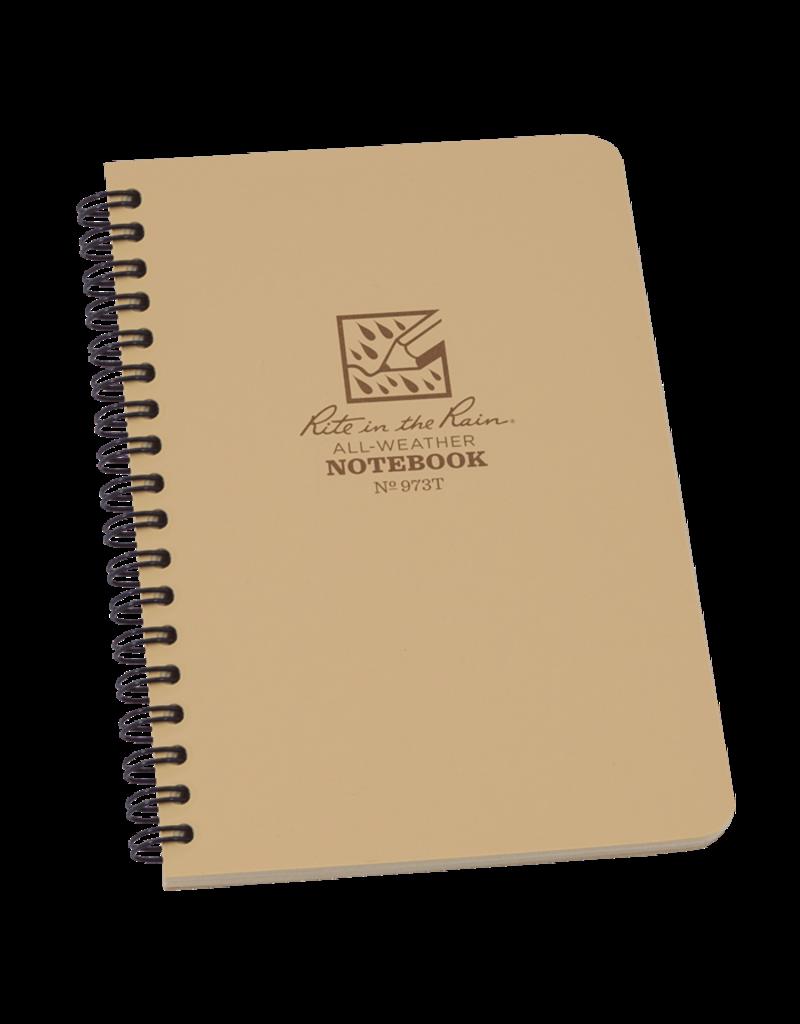 "Rite in the Rain 4 5/8"" x 7"" Side Spiral Notebook"