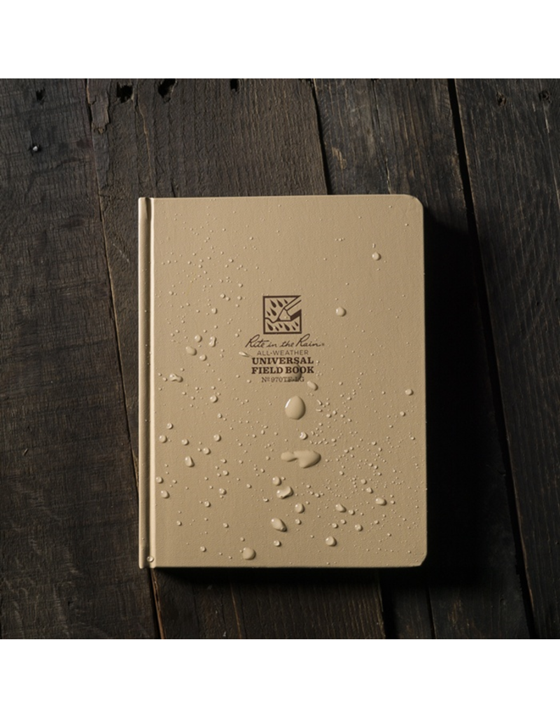 "Rite in the Rain 6 3/4"" x 8 3/4"" Hard Cover Book"