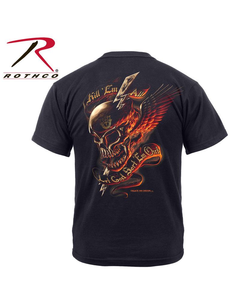 Rothco Black Ink Kill 'Em All T-Shirt