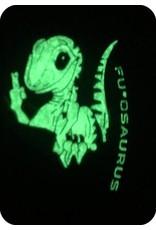 Tuff F U osaurus PVC Glow Patch