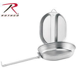 Rothco Stainless Steel Mess Kit