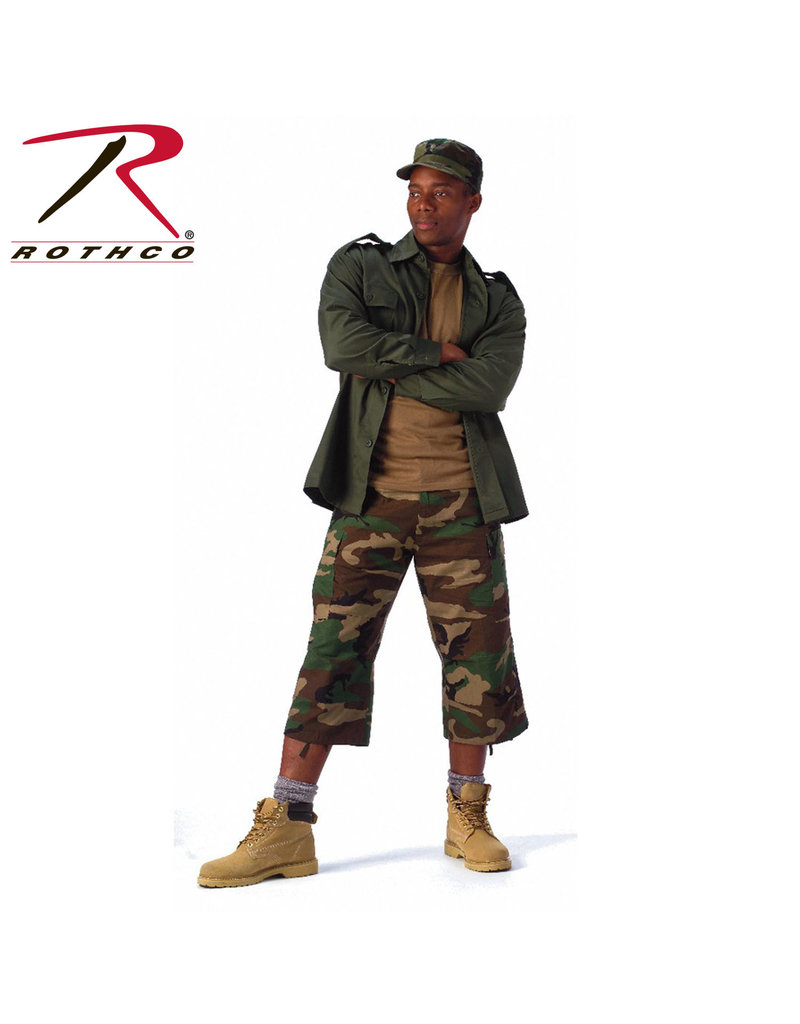 Rothco 6-Pocket BDU 3/4 Pants