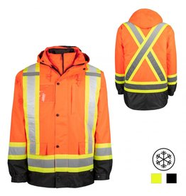 Terra High Visibility Winter Jacket