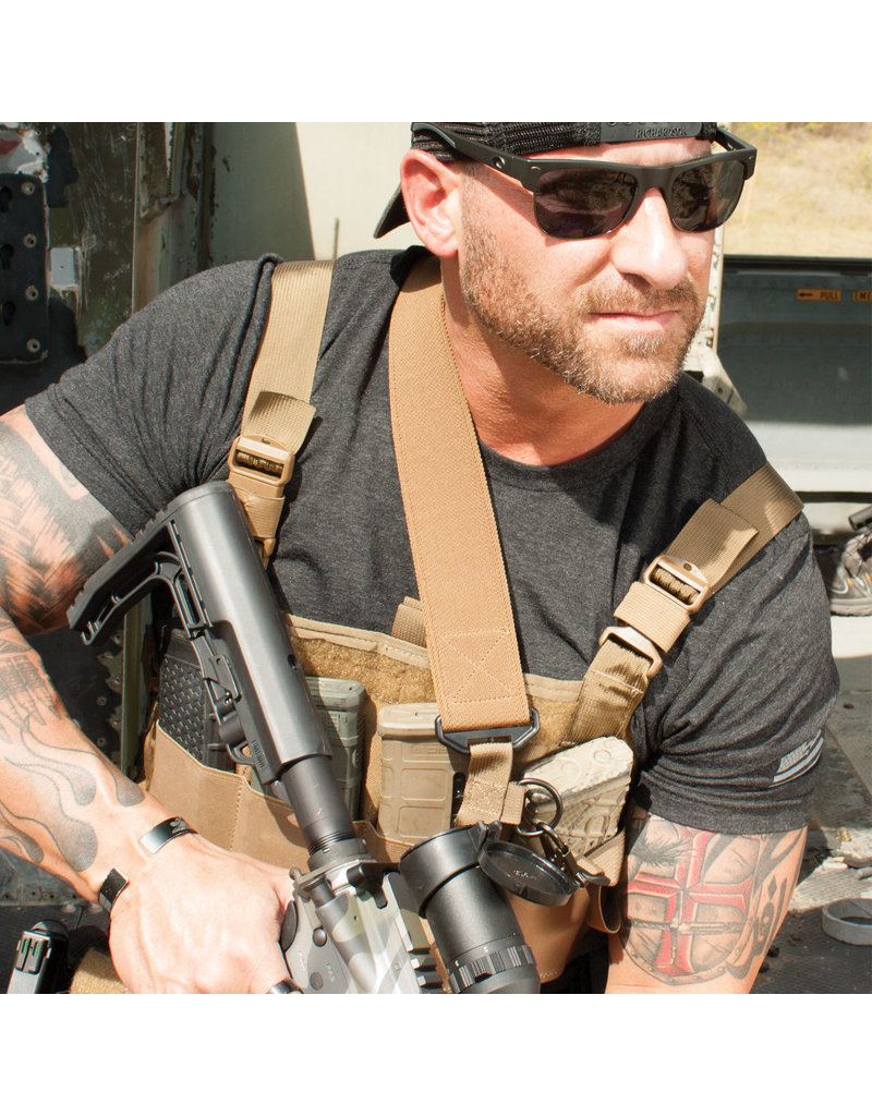 """United States Tactical 2-to-1 Point 2"""" Sling with HK Hook"""