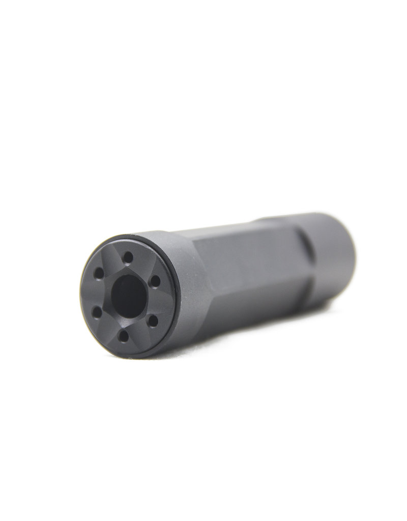 Modify Functional Airsoft Suppressor 14mm CCW with Barrel Spacer