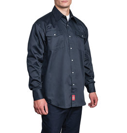 Dickies Long Sleeve Snap Front Work Shirt