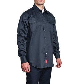 Dickies Long Sleeve Snap Front Work Shirt