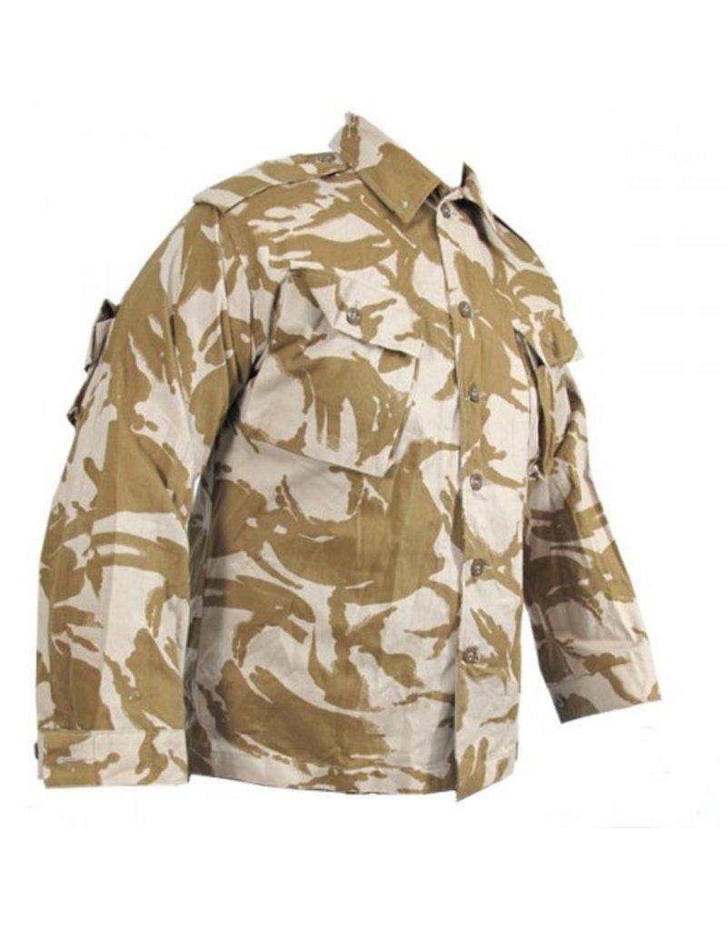 British Army Combat Jacket Blouse Desert DPM Camouflage USED Large