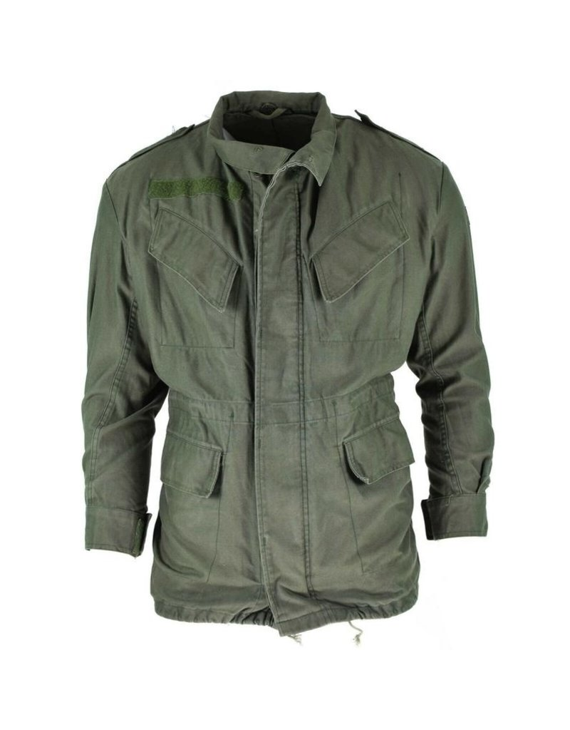 Genuine Belgian Military Field Jacket (Usagé)