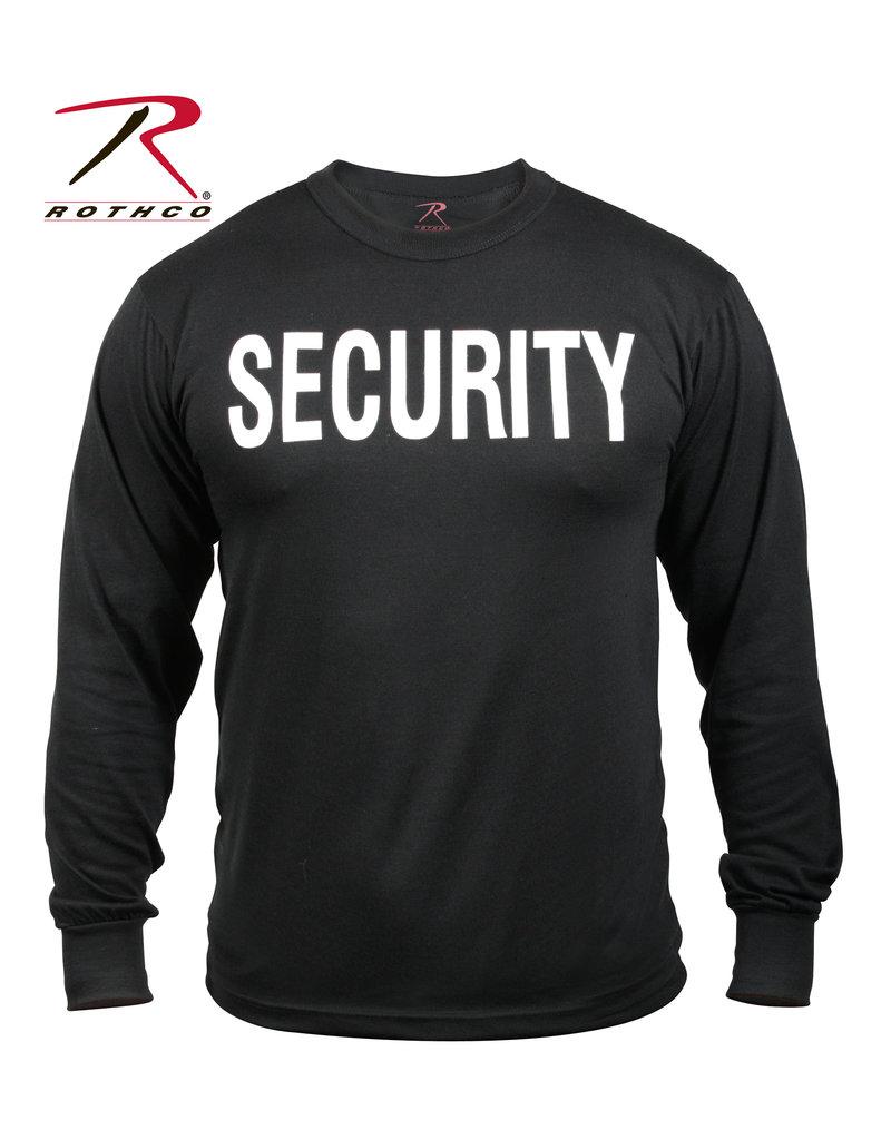Rothco 2-Sided Security Long Sleeve T-Shirt