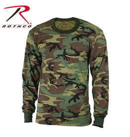 Rothco Kids Long Sleeve Camo T-Shirt