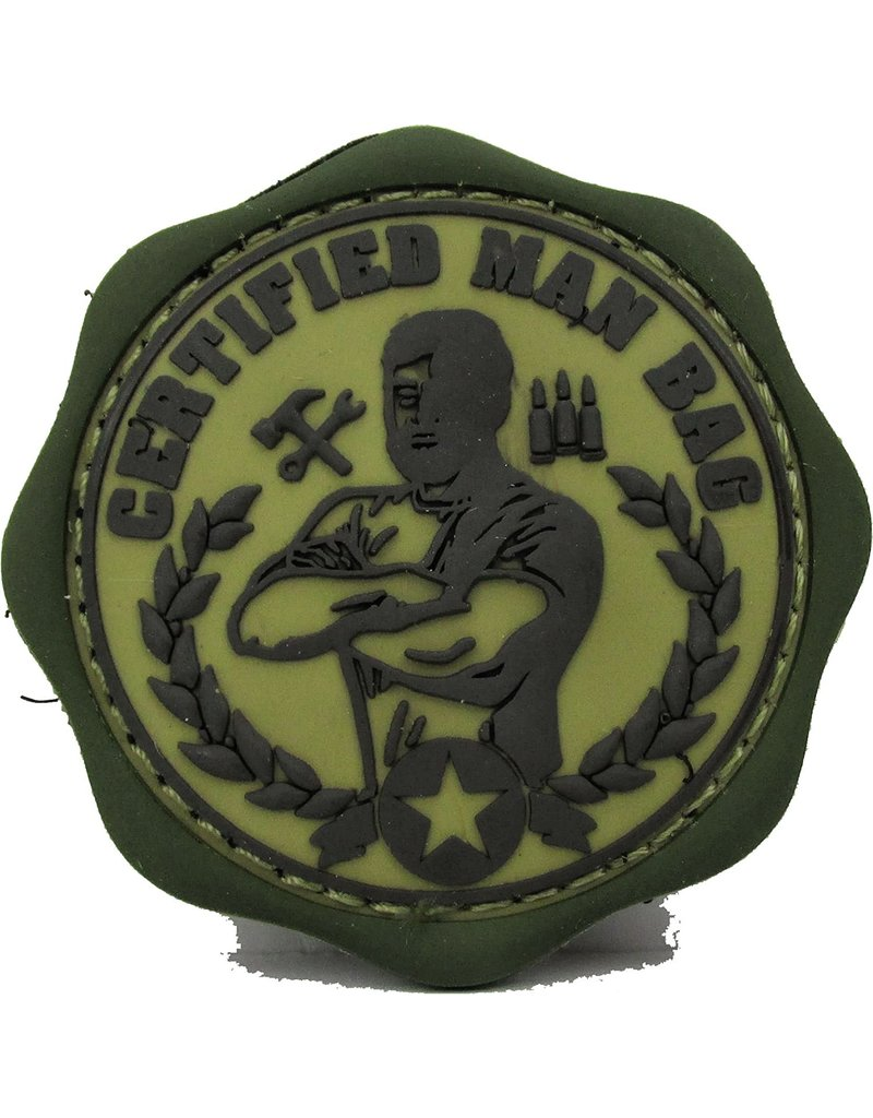 Certified Man Bag Patch