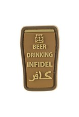 Beer Drinking Infidel Patch