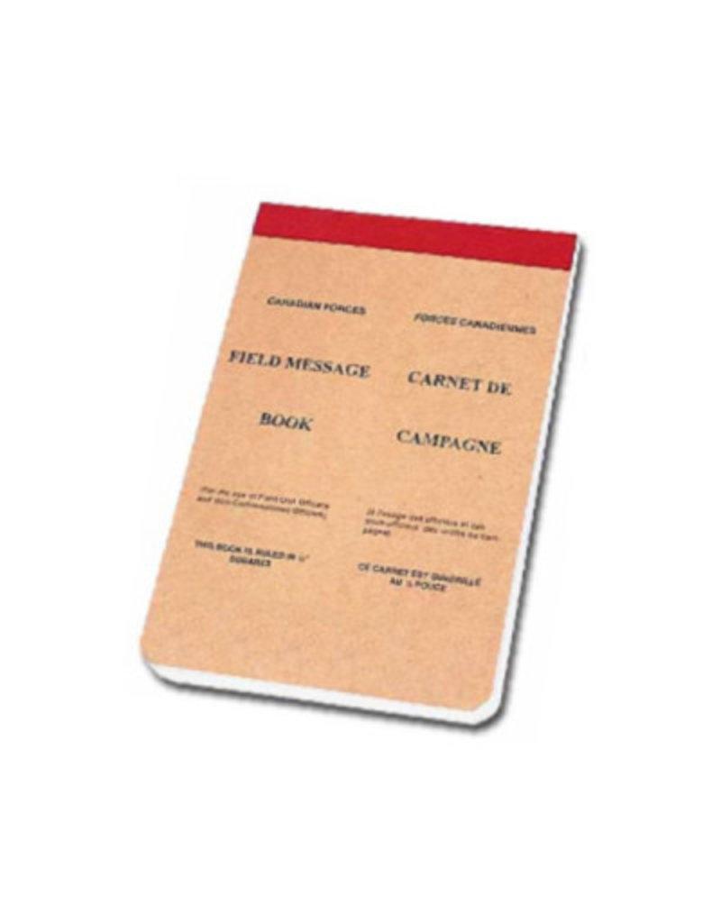 Genuine Field Message Book