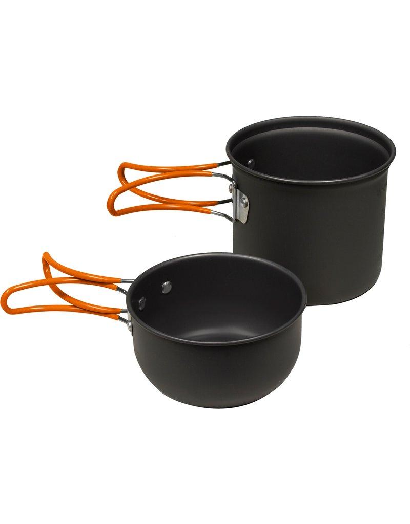 World Famous Dual Pot Cookset