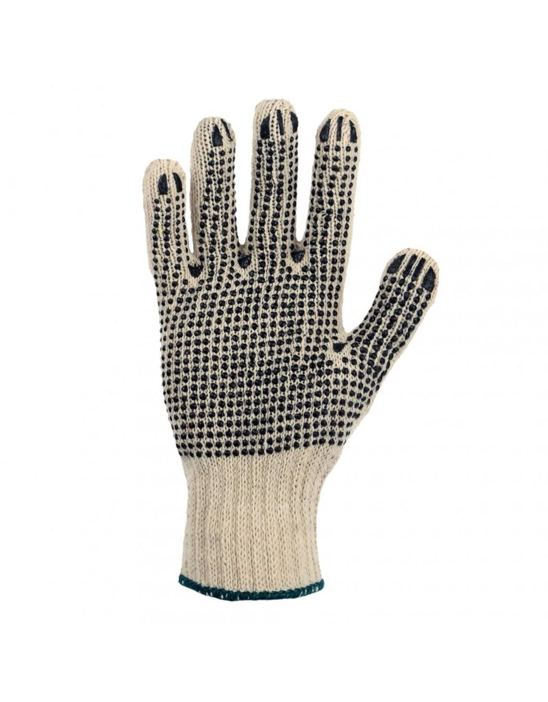 Horizon Dotted Polyester and Cotton Work Gloves (12 pack)